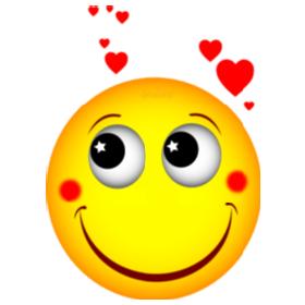 Smiley amoureux letitdavidou - Smiley bisous iphone ...