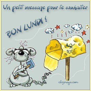 bon lundi mes amies