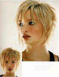 Degrades sur cheveux court blog de hair city - Coupe de cheveux effile sauvage ...