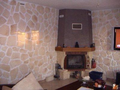 chemin e peint effet chocolat blog de peinture 69. Black Bedroom Furniture Sets. Home Design Ideas